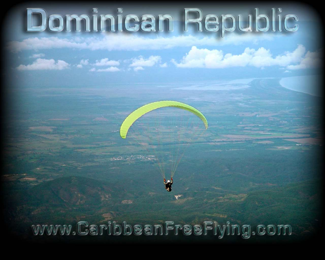 Gliding out from La Hoz, Barahona